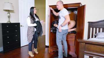 Aaliyah Hadid got in the middle of couples fantasies hunting the big cock