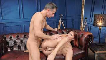 Naughty girl Renata Fox gladly has hot anal sex with her dad's employee