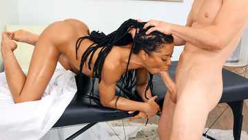 Kira Noir: Stone Cold Massage