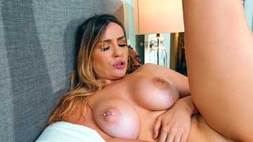 Stunning Marica Chanelle moans having her elastic back door stretched with BBC